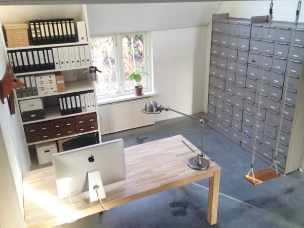 Schommel In Huis : Mijn werkplek mooi van mooi