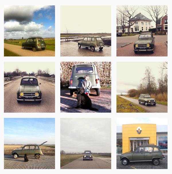 Kilometerregistratie Renault 4